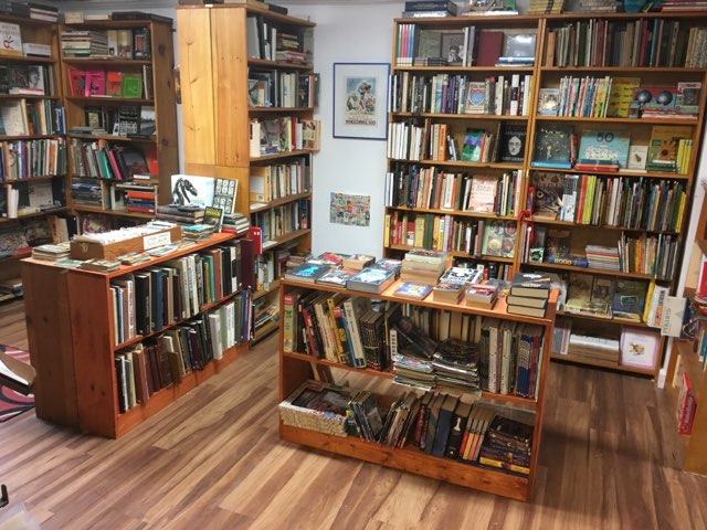 Art, Music, Cookbooks, History and a large Children's section!